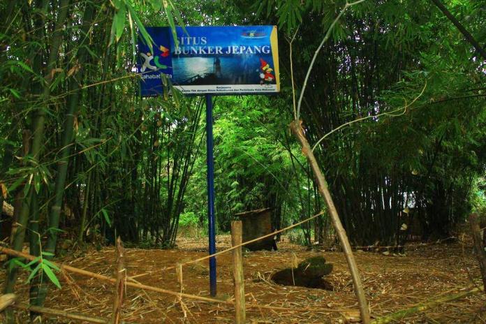 Bungker Jepang di Pulau Lakkang